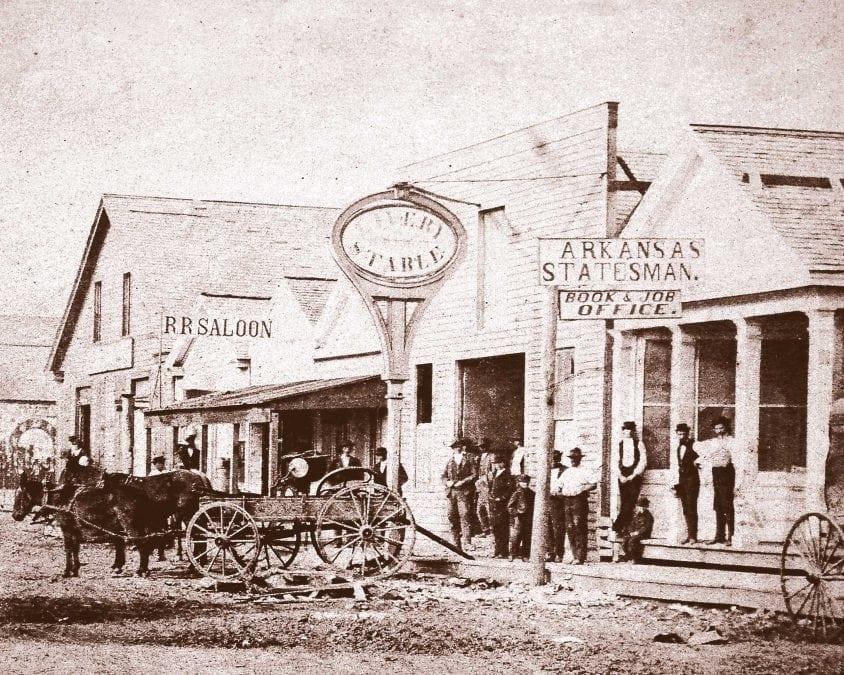 1875 – Jacksonport Street Scene