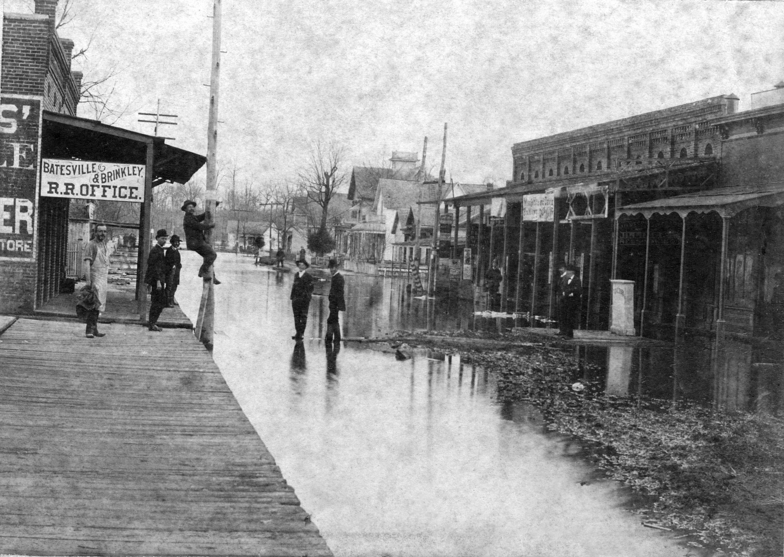 1884 – Newport Flood Overflow