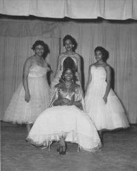 1960 – Branch High School Athletic Queen and Court Newport