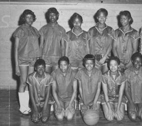 1957 – Branch High School Girls Basketball Team