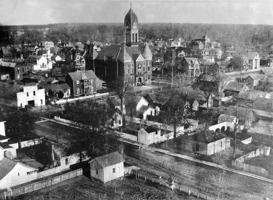 1900's – City of Newport Aerial View