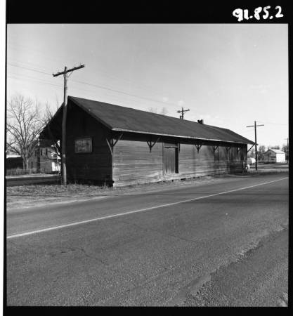1970's – Chicago Rock Island Railroad Depot in Weldon