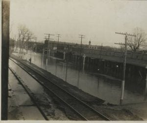 1916 – Flood in Downtown Newport