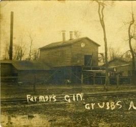 1900's – Farmer's Gin in Grubbs Arkansas