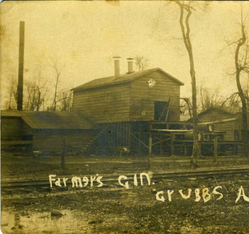 1900's – Farmer's Gin in Grubbs Arkansas