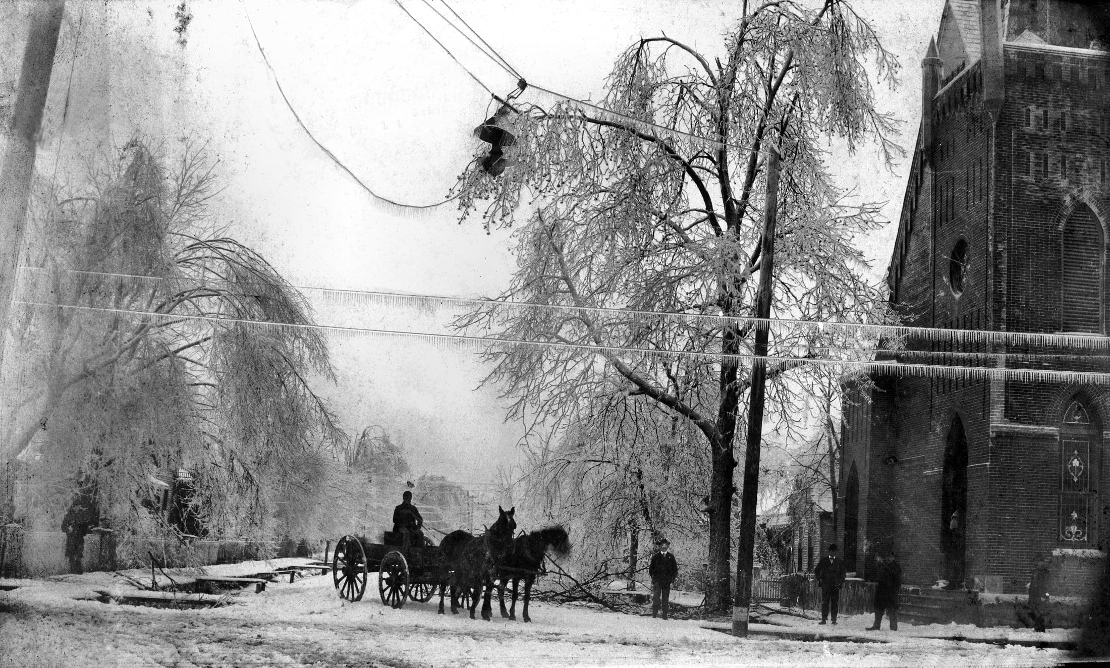 1890 's – Newport Ice Storm in 1898
