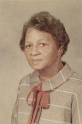 1960's – Irma F. Barnes Branch School Teacher in Newport