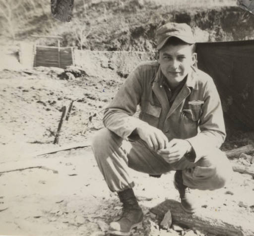 1950's – J.W. Canard of Tuckerman, Arkansas in Korea