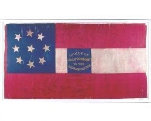 1861 – Jackson Guard Flag