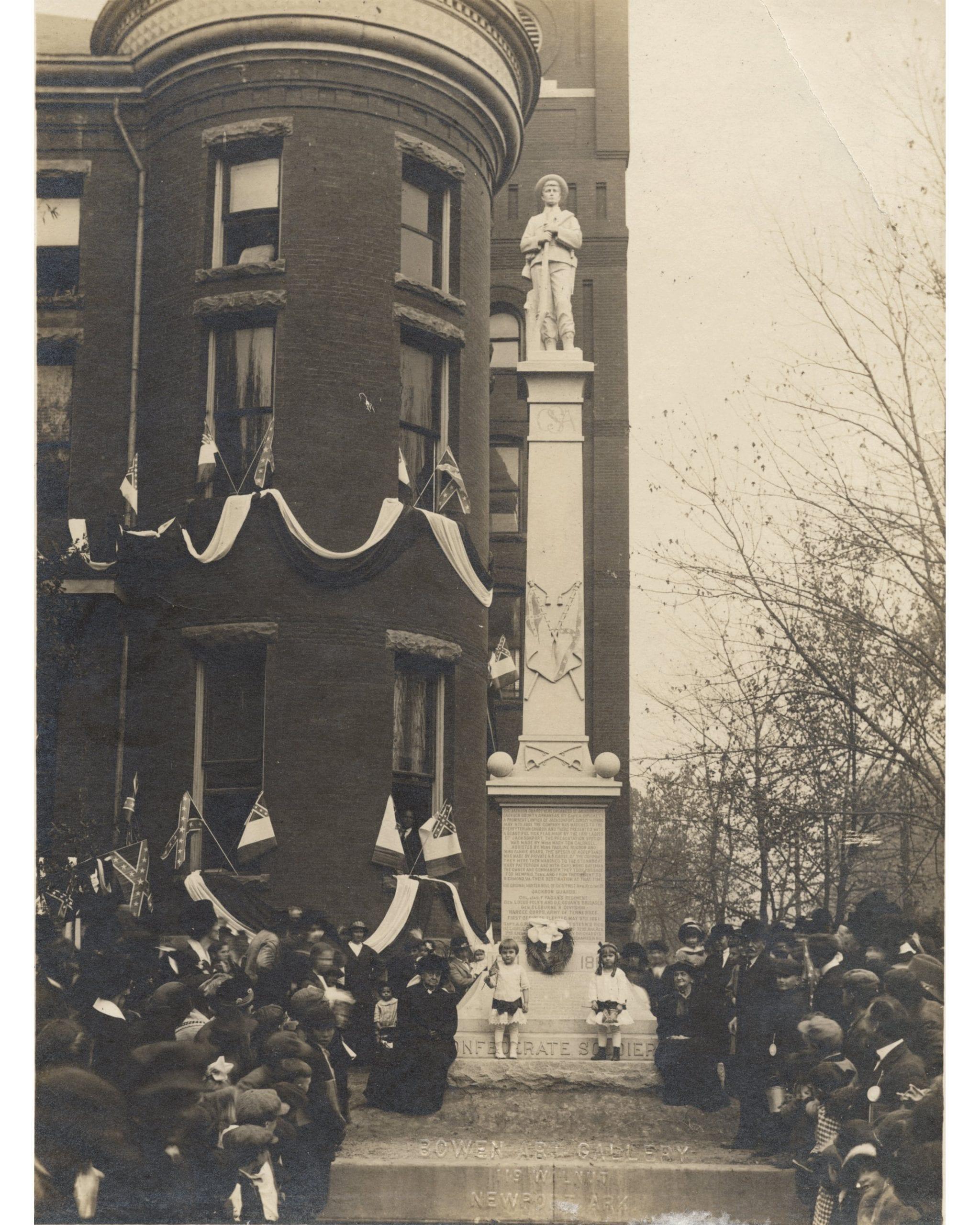 1914 – Jackson Guard Monument Dedication