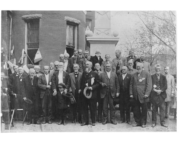 1914 – Jackson Guard Monument Dedication