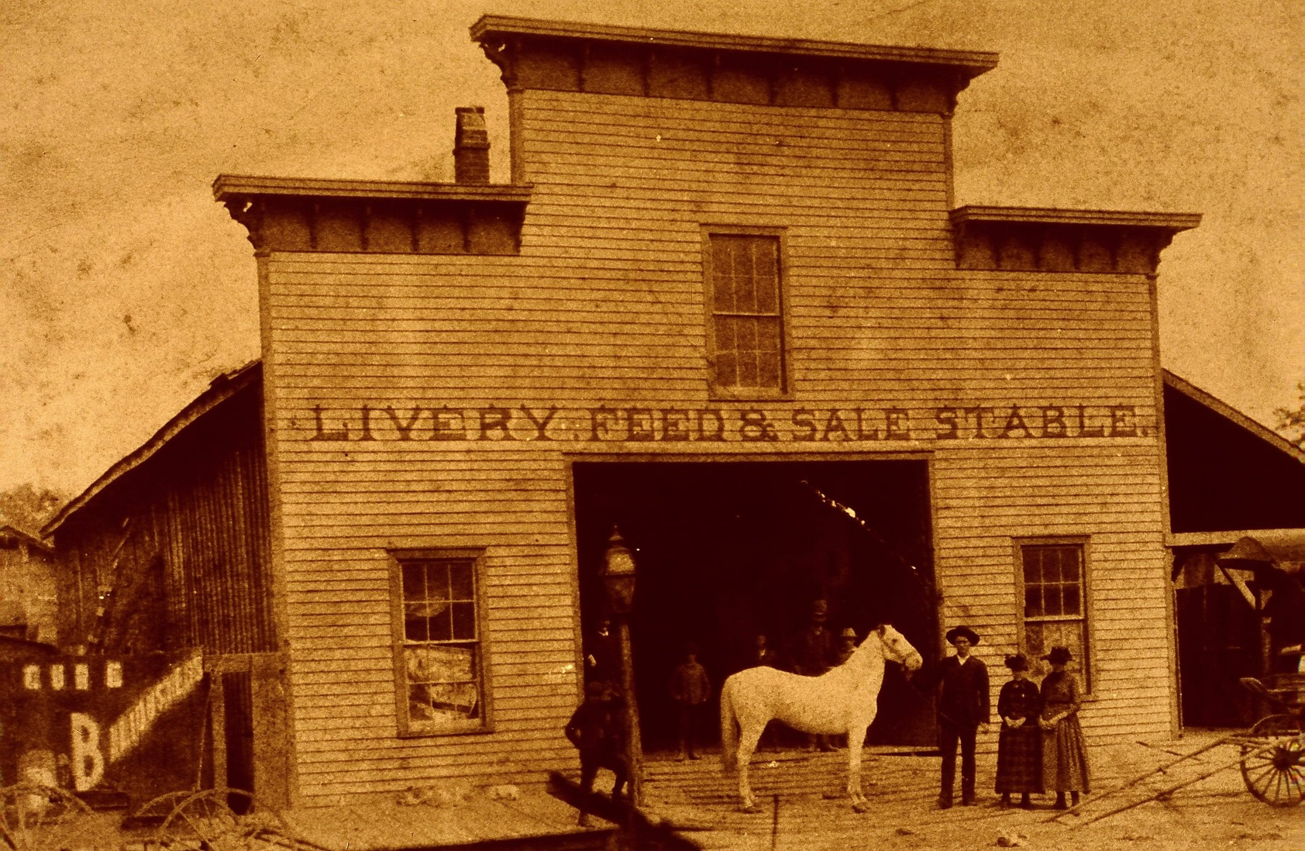 1900's – Jacksonport Livery Stable