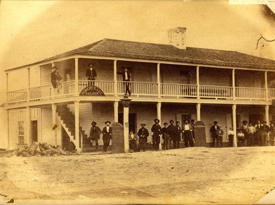 1870's – Robert E. Lee Saloon in Jacksonport