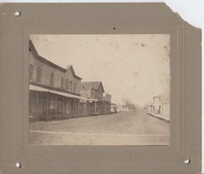1890's – Jacksonport Street Scene
