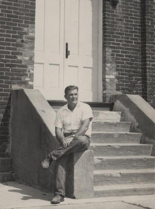 1960's – Lairs Miller at the Jacksonport Courthouse