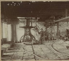 1900's – Early Manufacturing Operation in Newport
