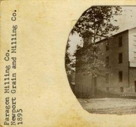 1895 – Paragon Milling Company Building in Newport