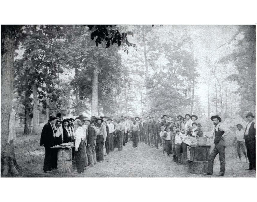 1898 – Jackson Guard Reunion Meal