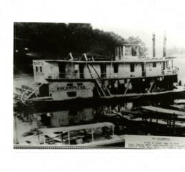 1900's – Steamboat Pocahontas on White River Run