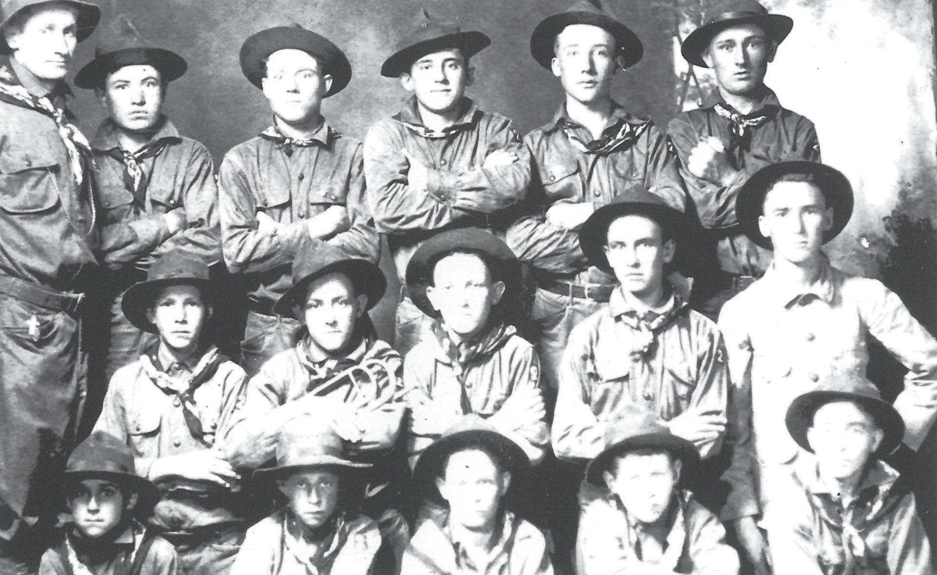 1914 – Boy Scouts in Newport