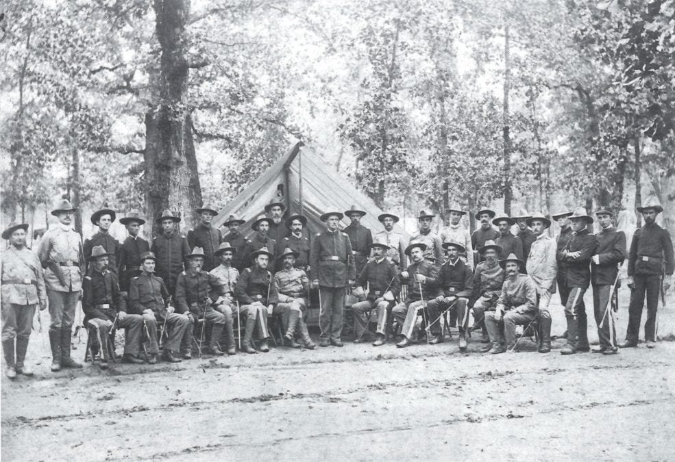 1898 – Company F, 2nd Arkansas Volunteers