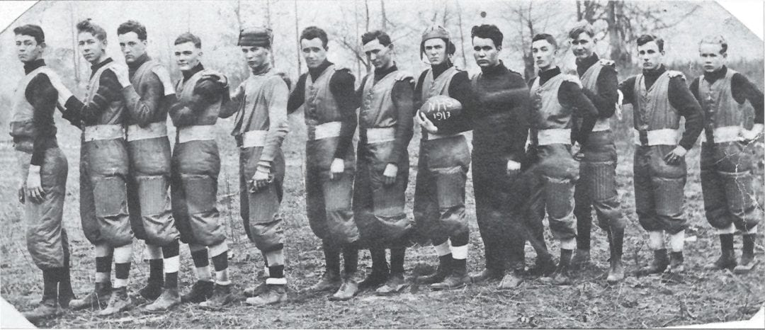 1913 – First Newport High School Football Team