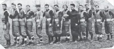 1913 – First Newport High School Football Team