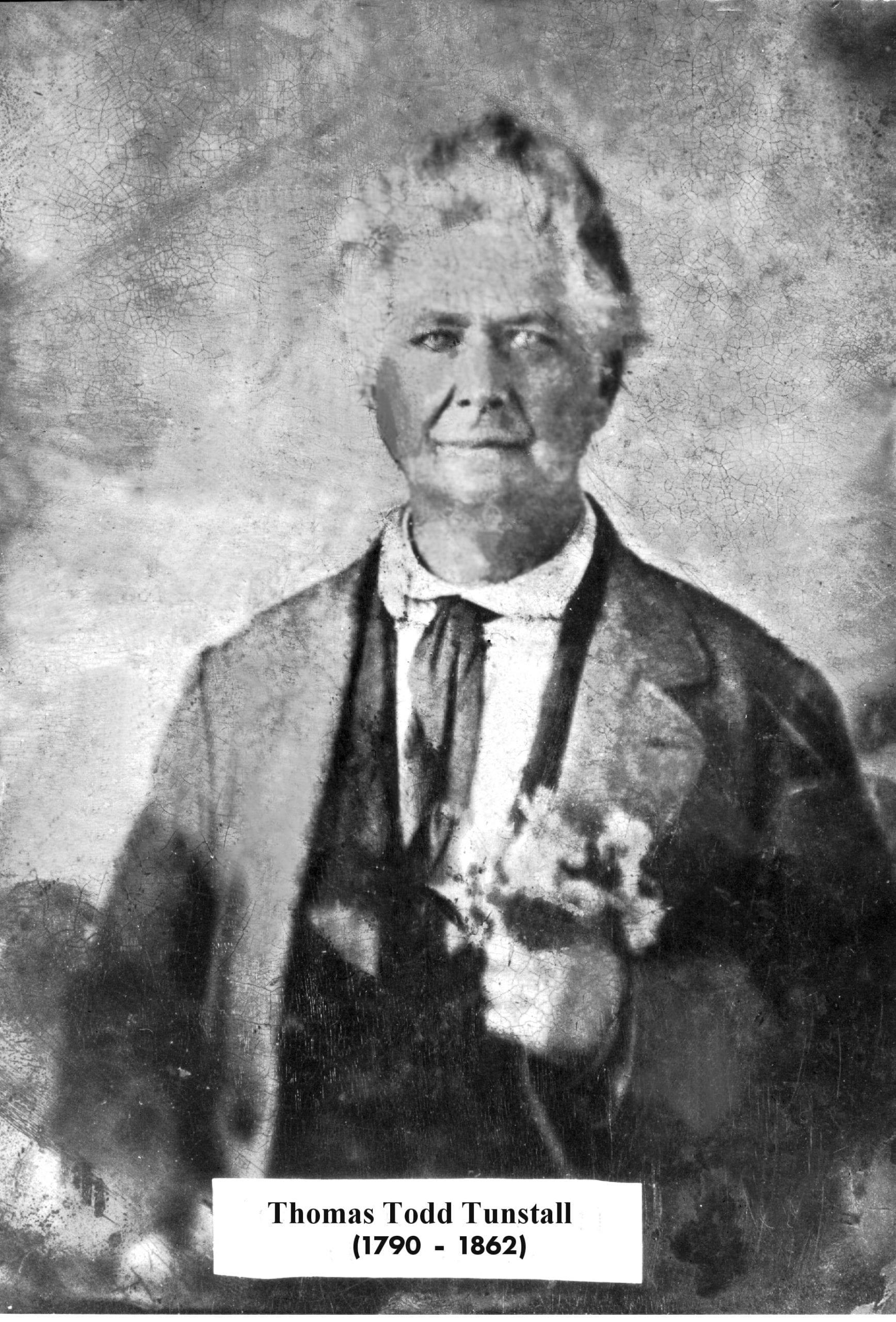 1850's – Thomas Todd Tunstall