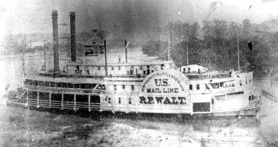 1870's – The Steamboat Walt