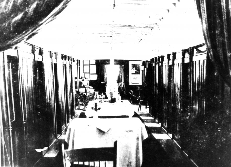 1870's – Steamboat Dining Room