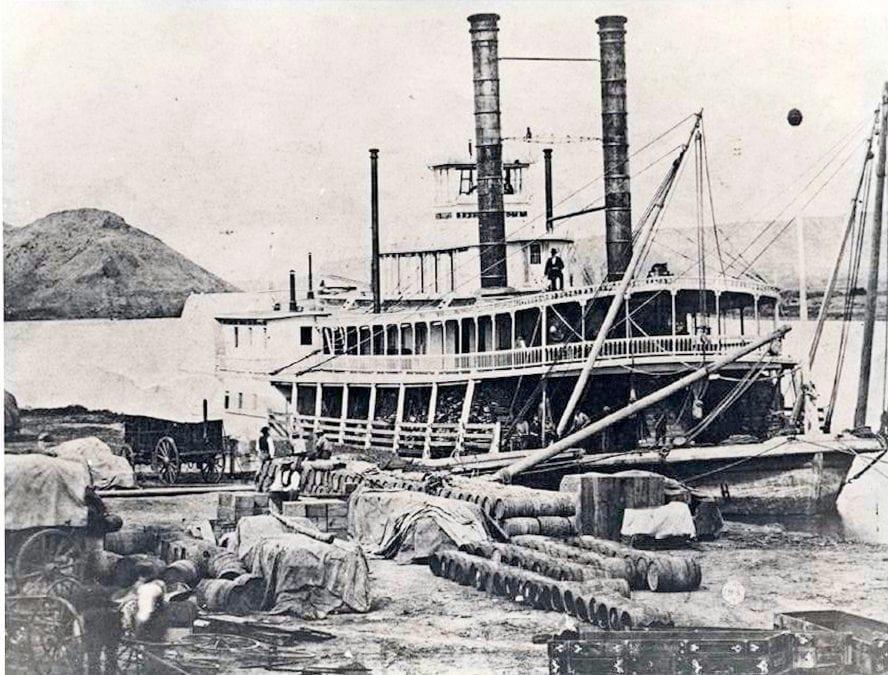 1870's – Steamer DeSmet