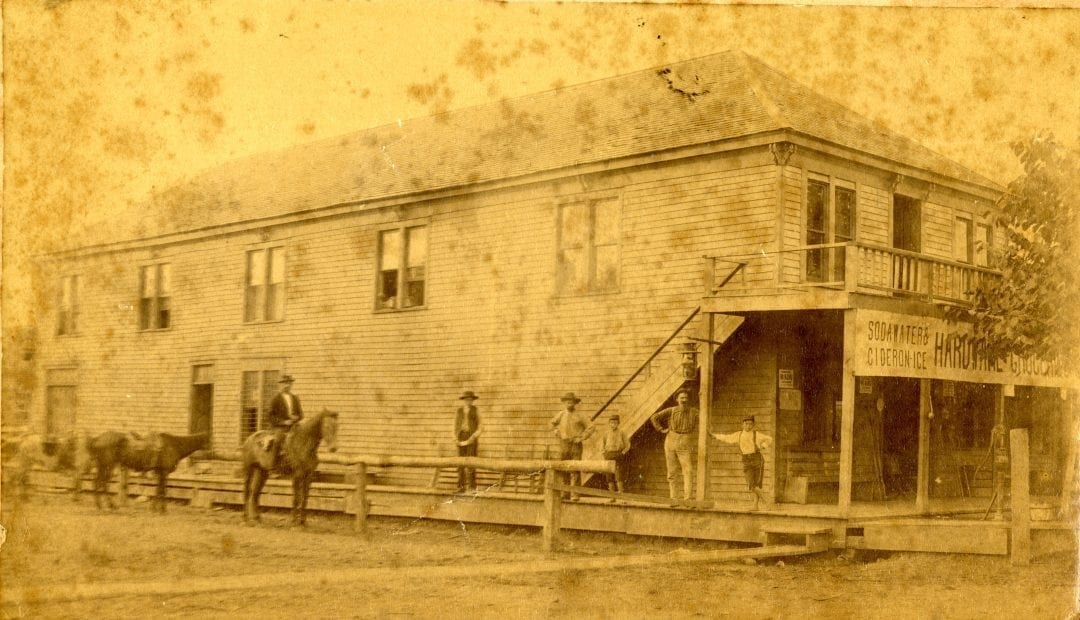 1880's – Joseph Coffin's Mercantile