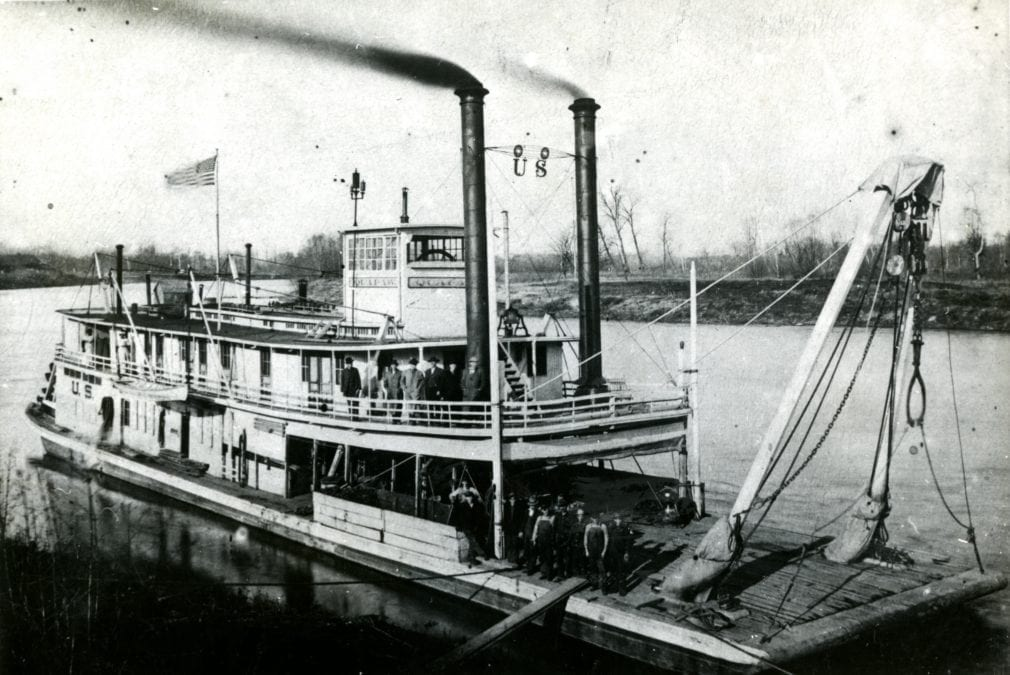 1880's – Snag Boat Quapaw
