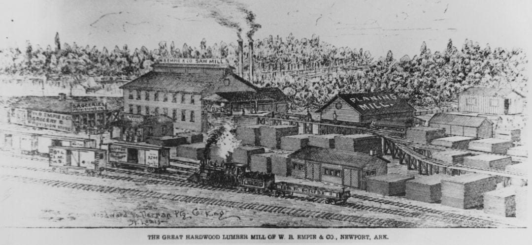 1880's – W.B. Empie Lumber Mill