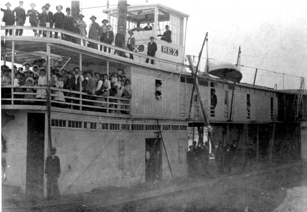 1890's – Steamboat Rex