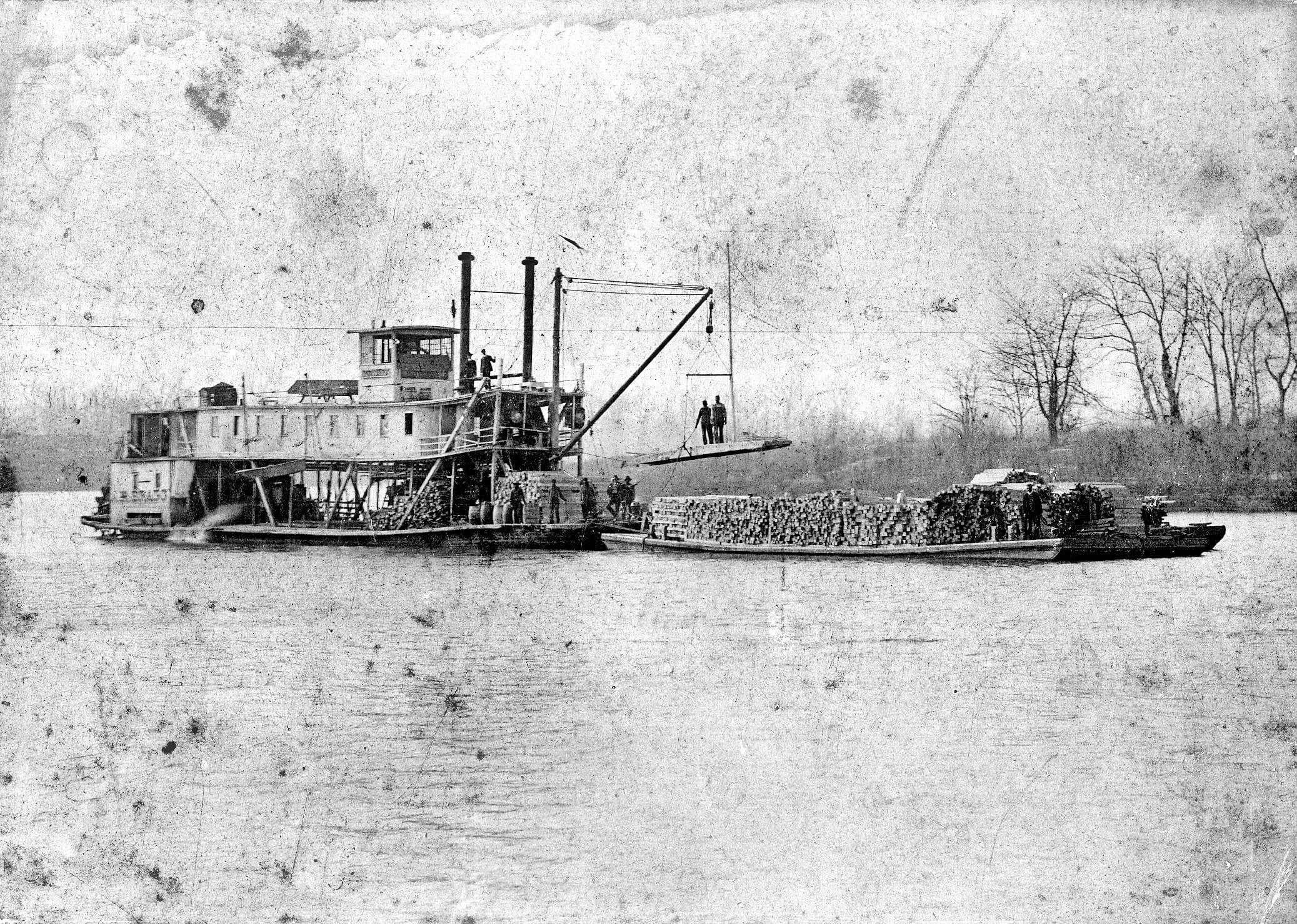1890's – Lumber Barge