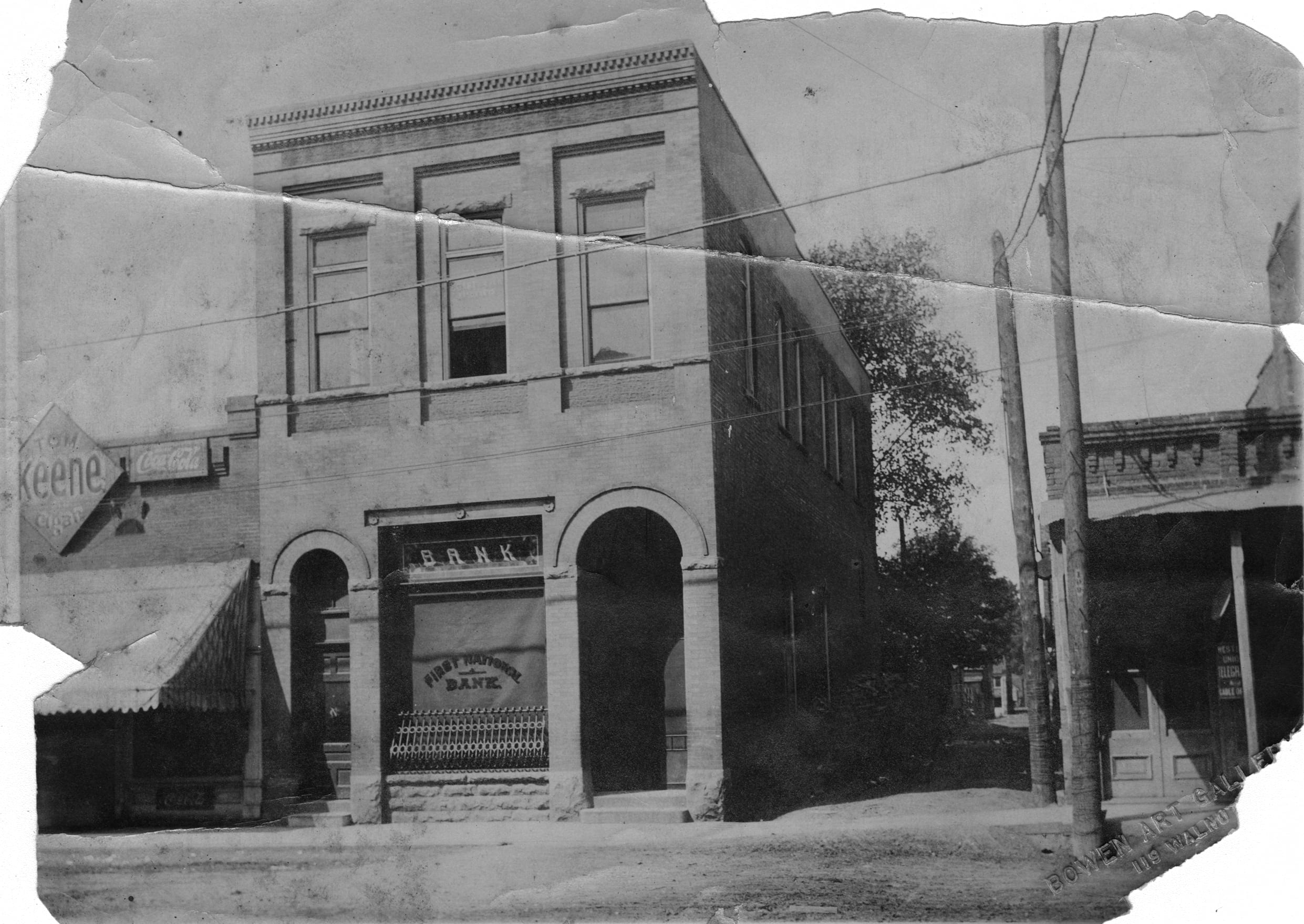 1890's – First National Bank