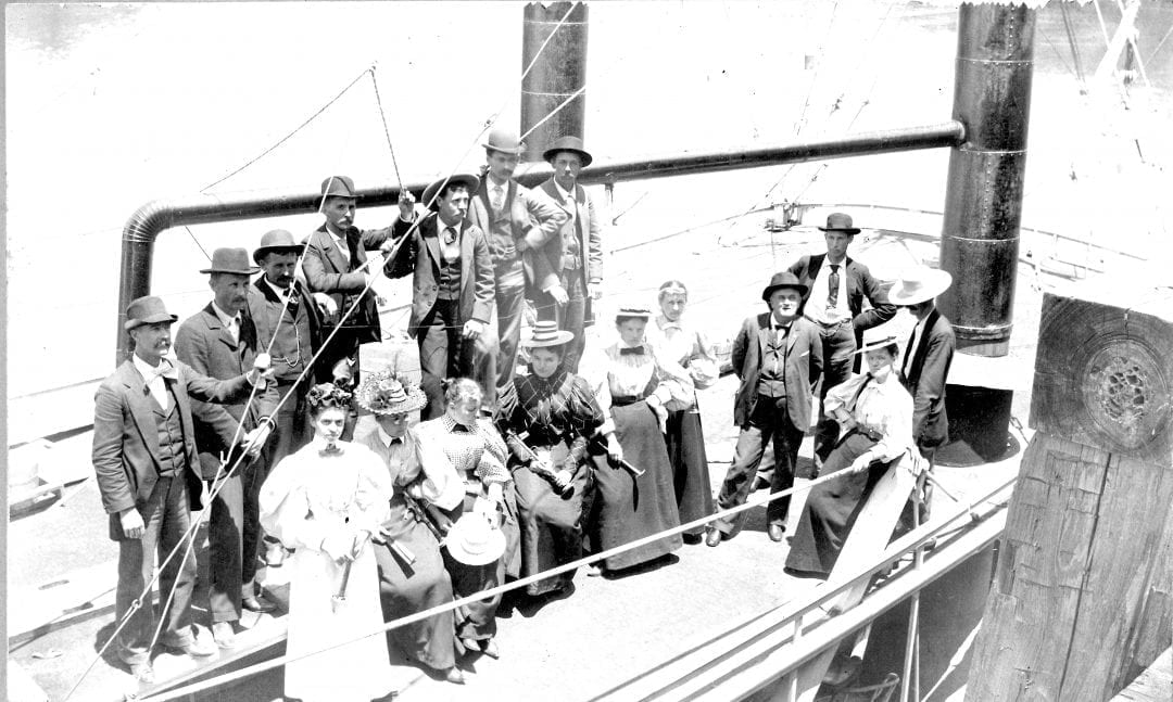 1895 – Boating Party