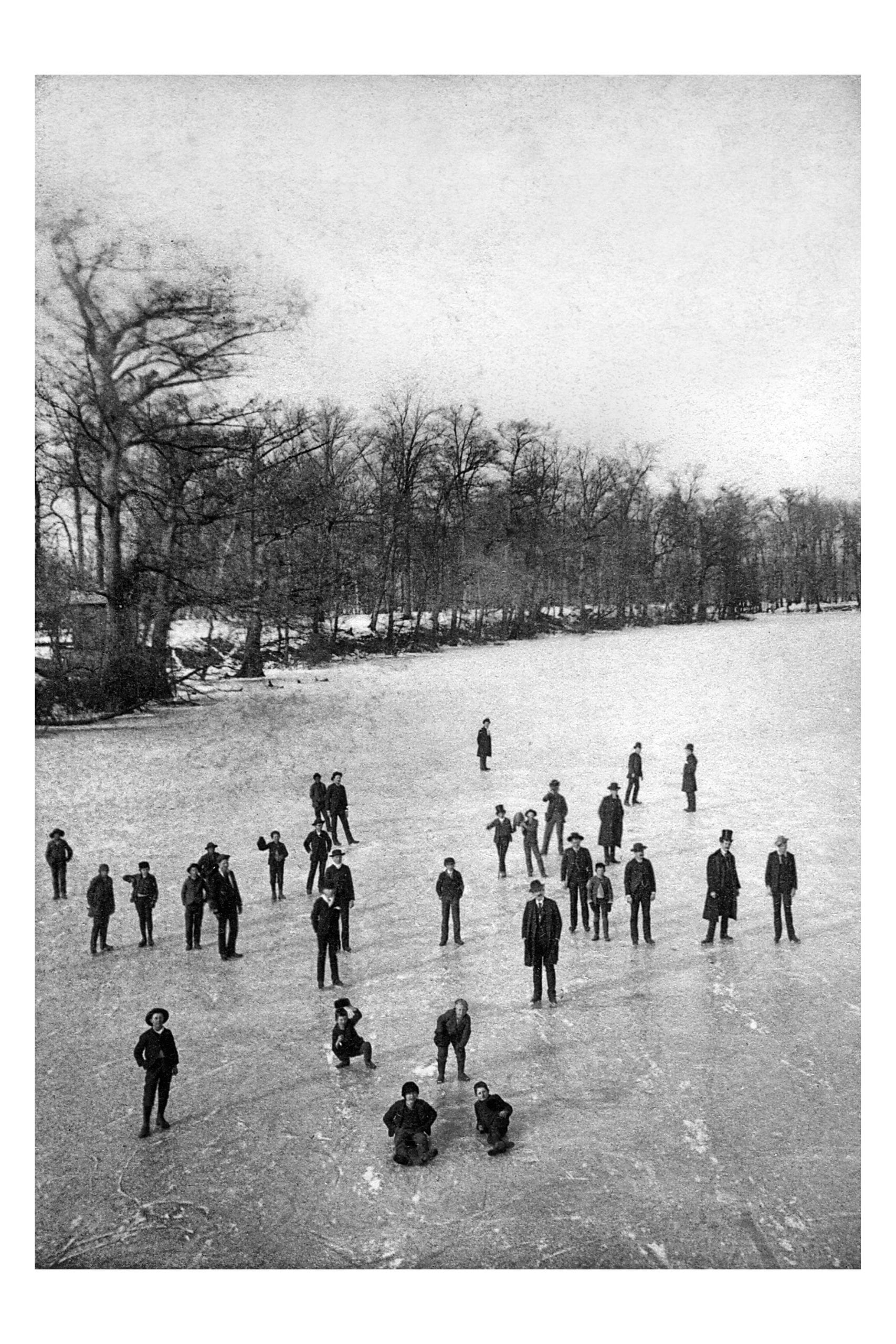 1898 – Newport Lake Frozen