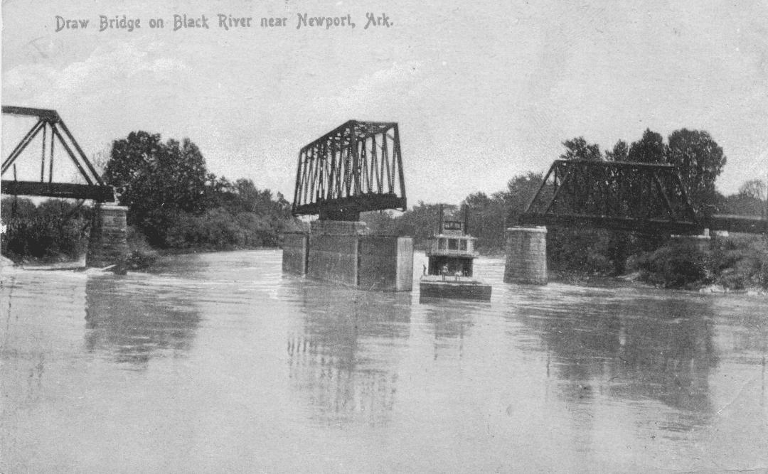 1890's – Black River Railroad Bridge