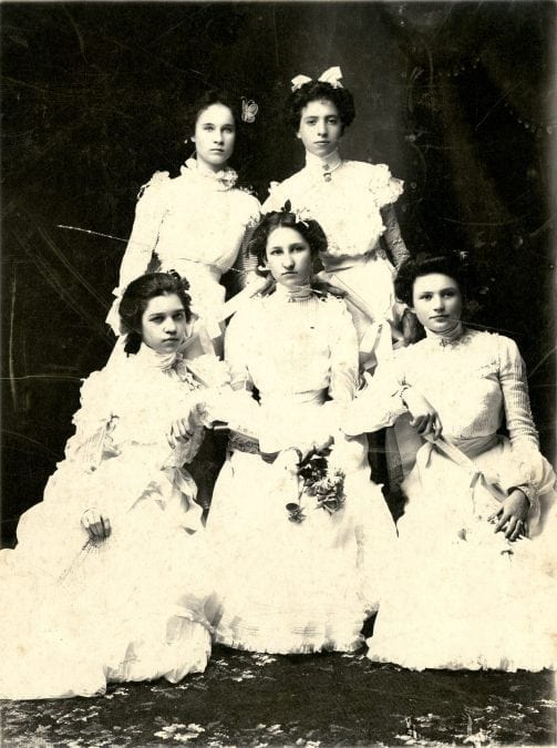 1901 – First Graduating Class of Newport High School