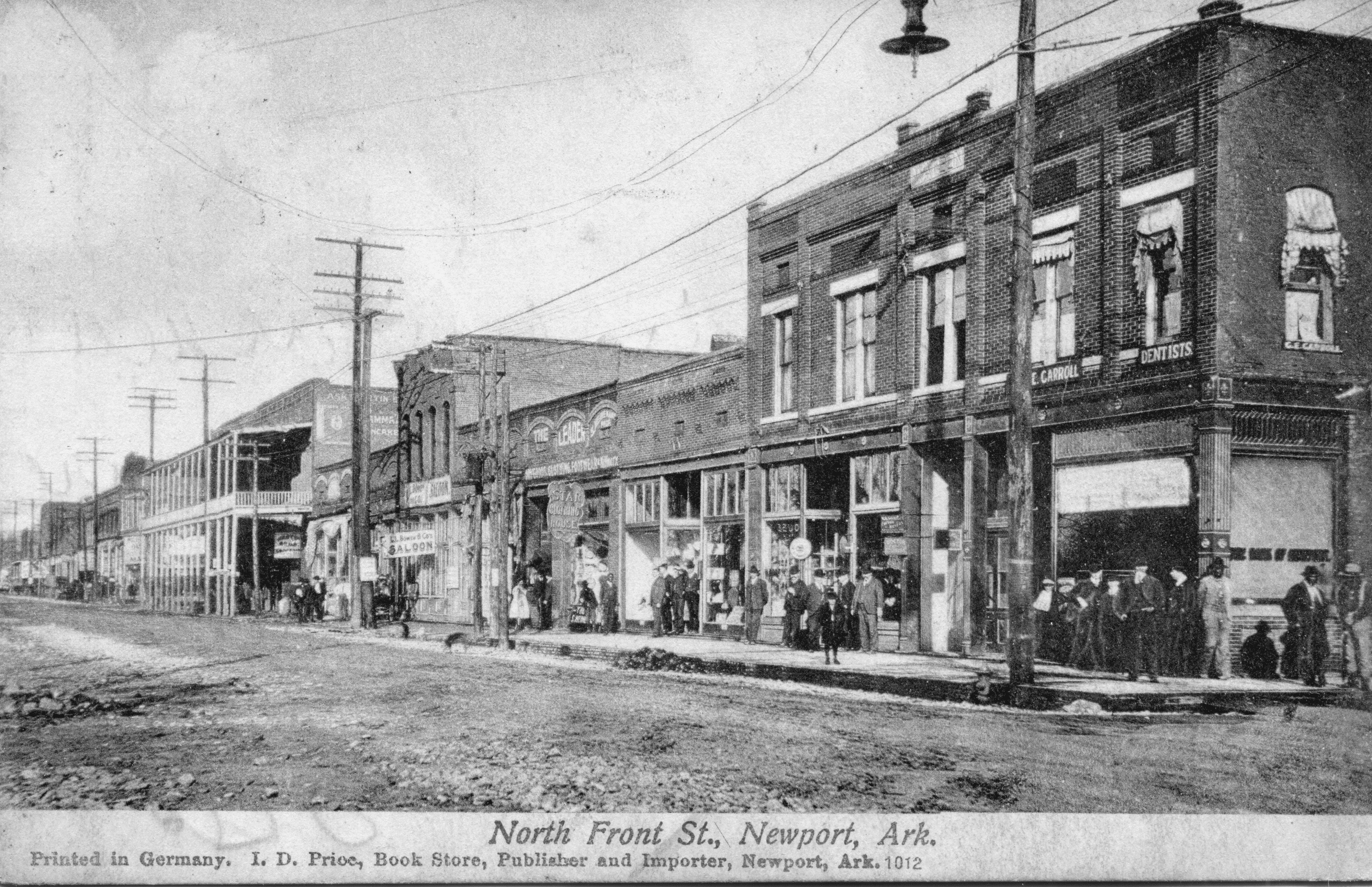 1907 – West End of Front Street
