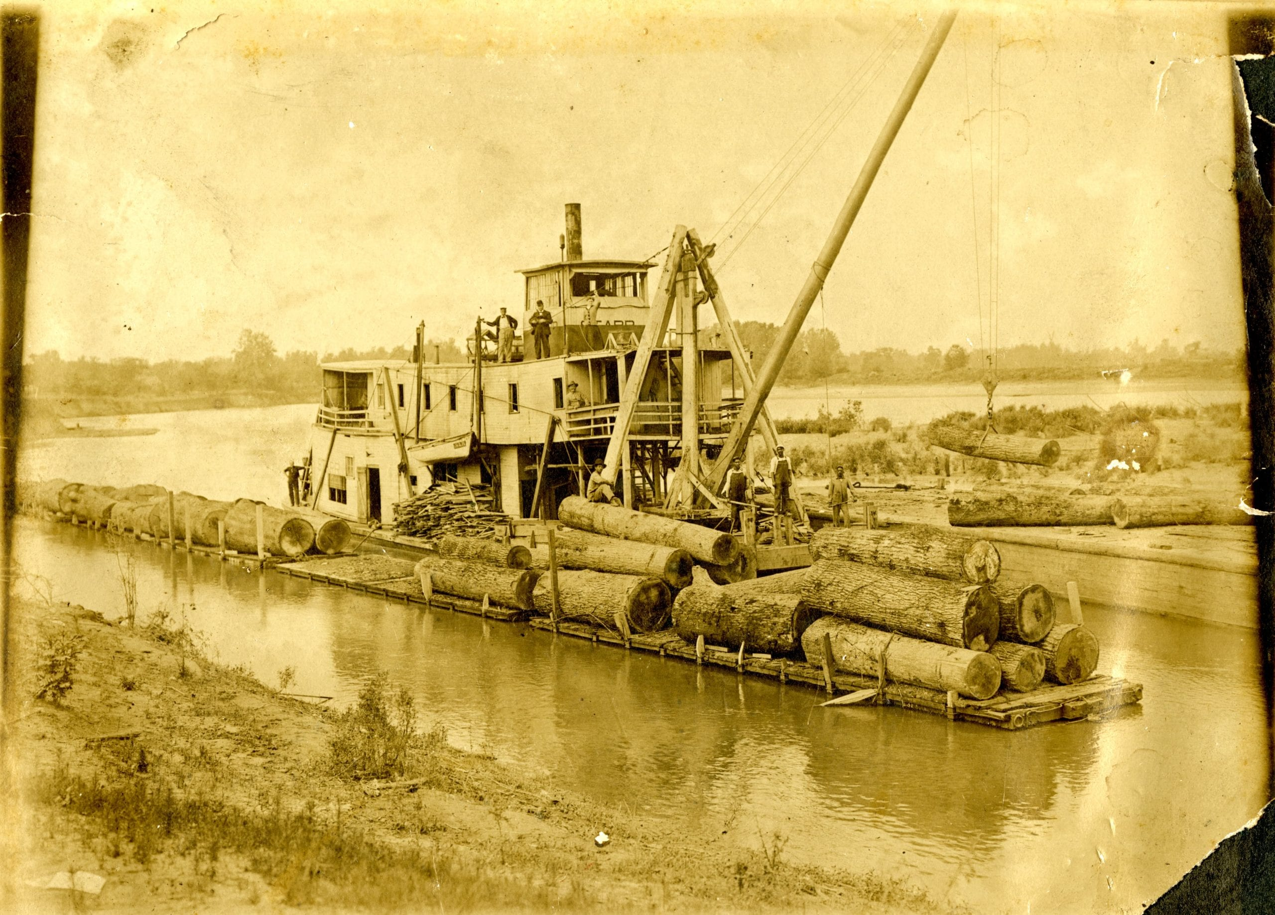 1900's – Paddleboat Sears