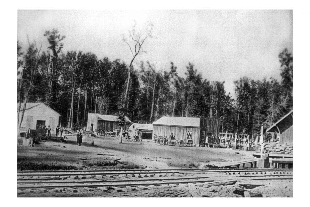 1900's – Tuckerman Lumberyard