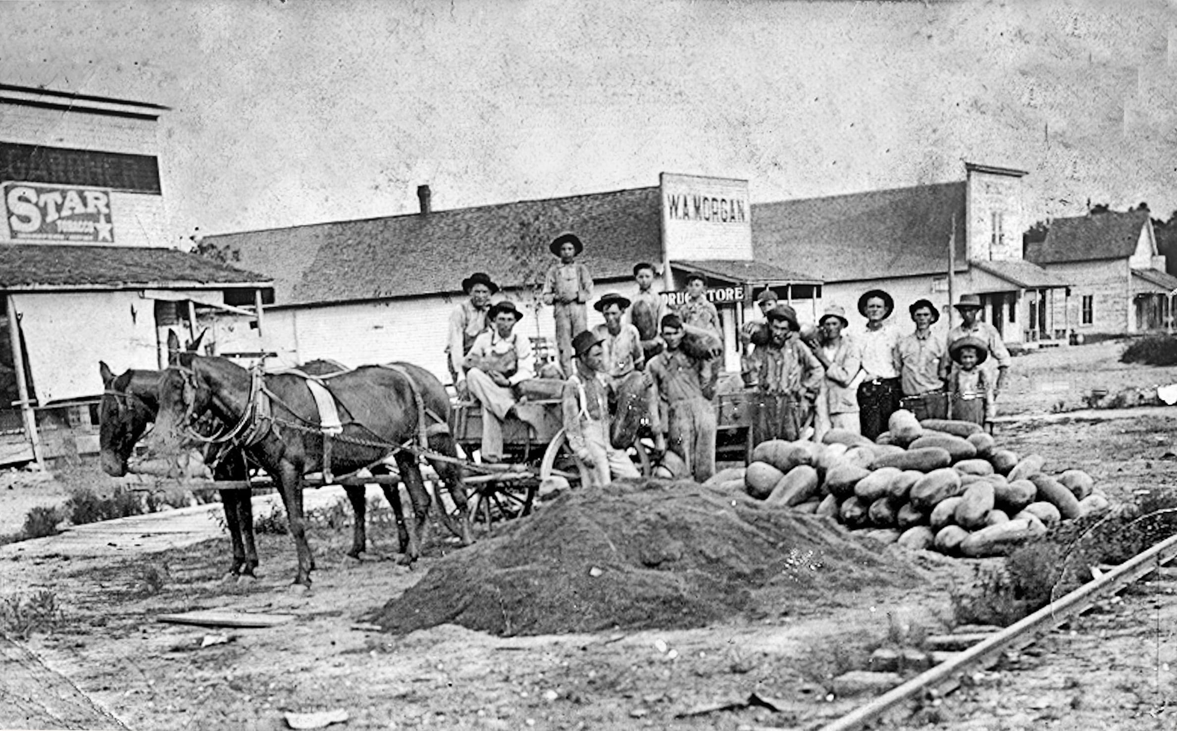 1900's – Main Street in Tupelo