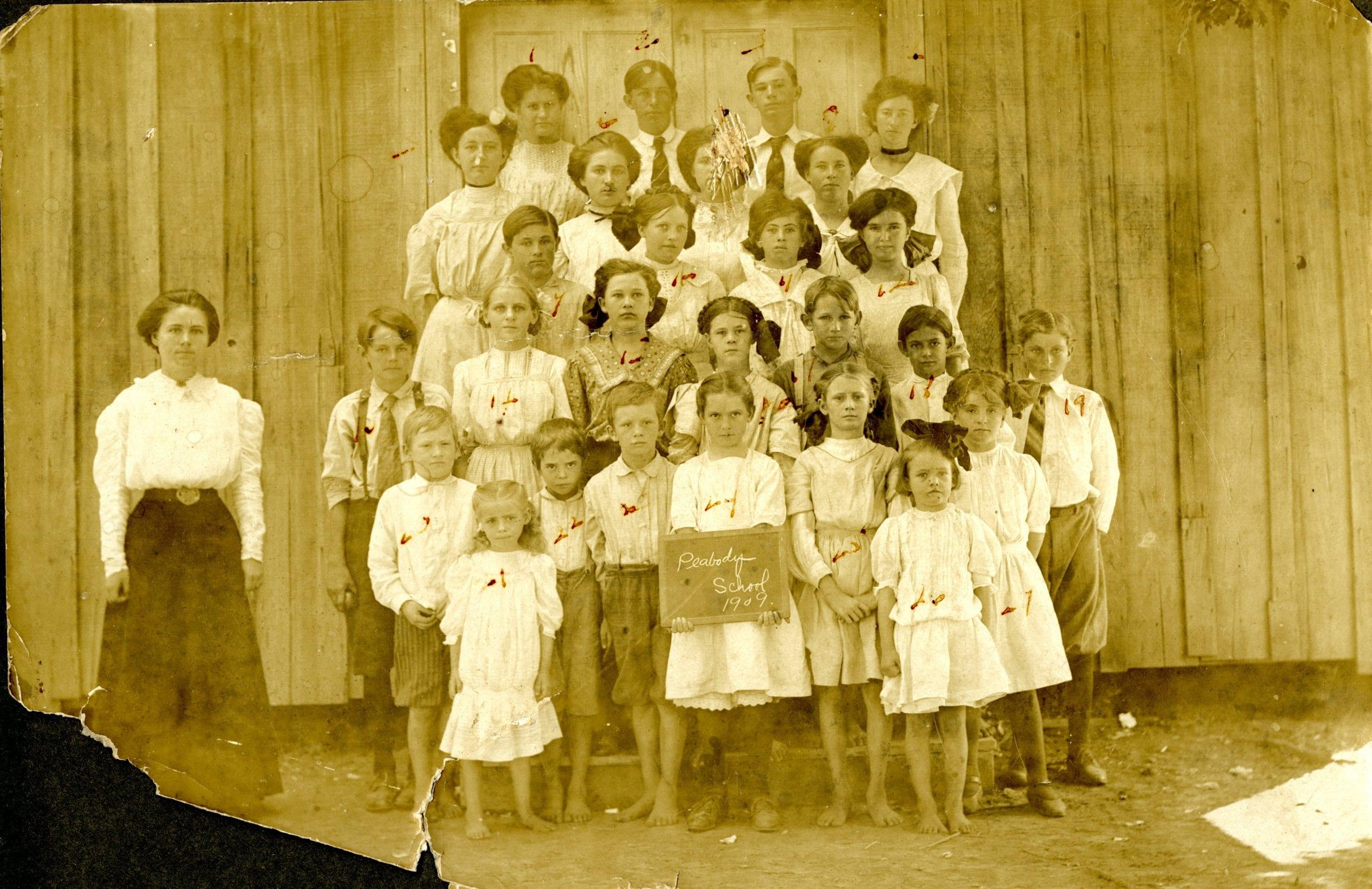 1900's – Peabody School in Tupelo