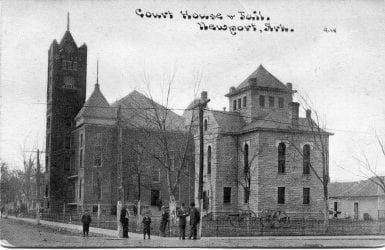 1910's – Jackson County Courthouse and Jail