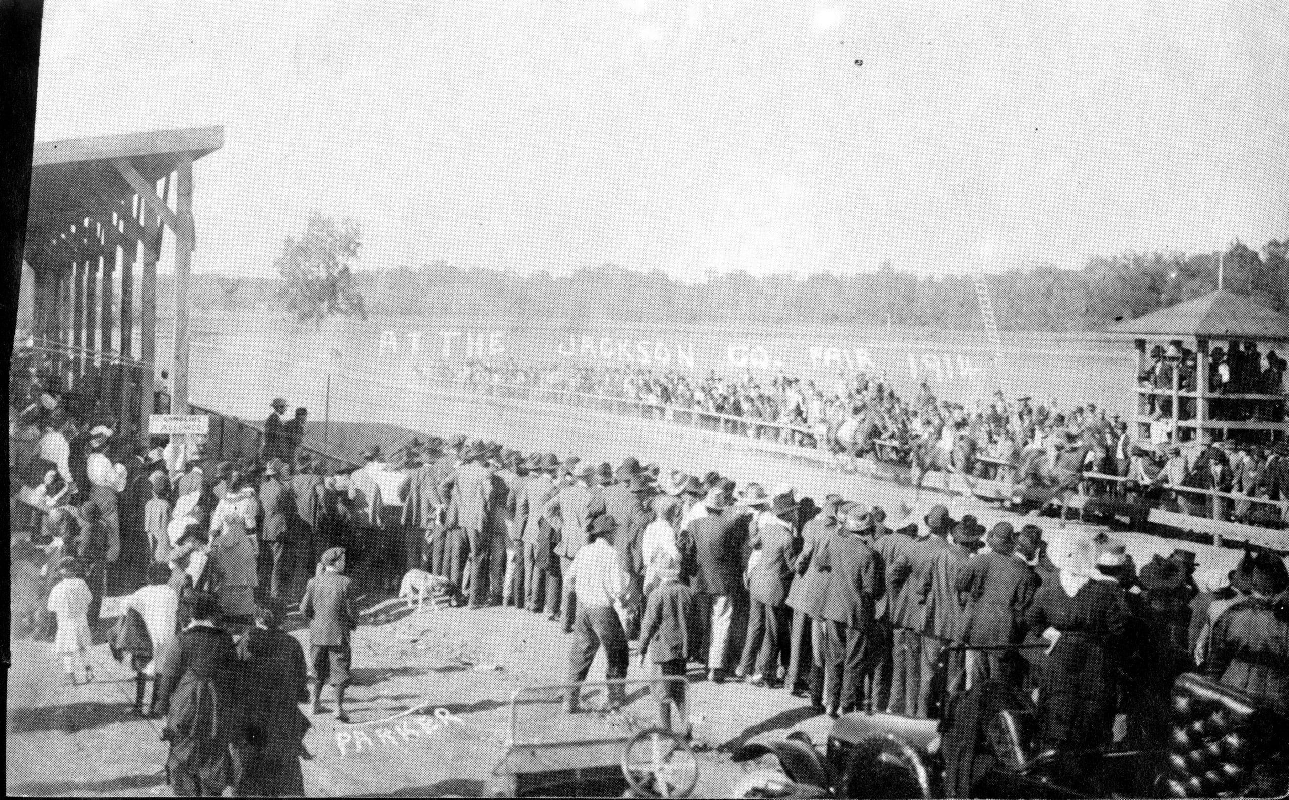 1914 – Jackson County Fairgrounds Horse Race