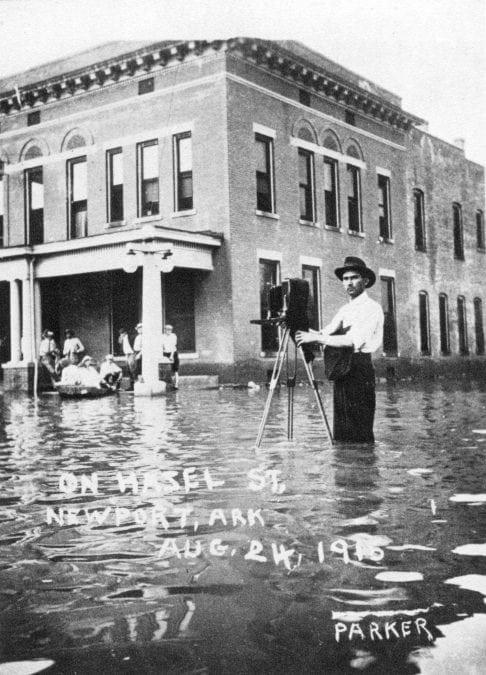 1915 – Flood on Hazel Street