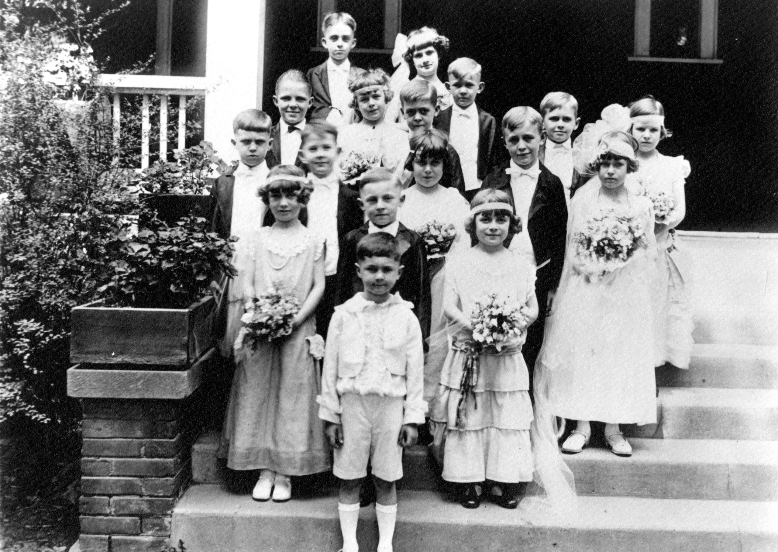 1923 – Tom Thumb Wedding